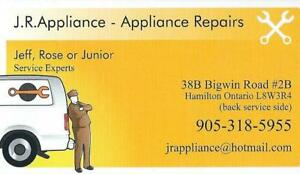 Carry in repair shop services available...