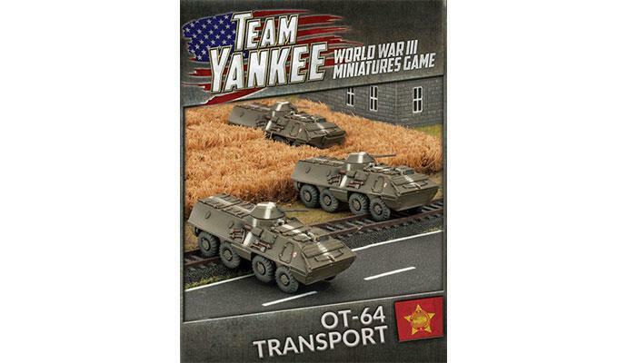 Team Yankee Czechoslovakian OT-64 Transport TWBX03 Battlefront
