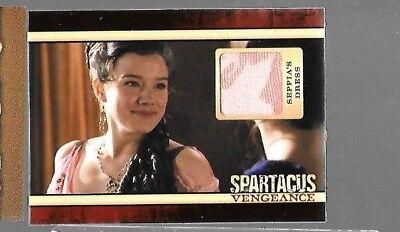 Seppia's dress costume relic card Spartacus Vegeance