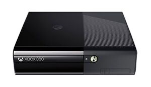 Xbox 360 slim with one controller