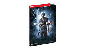 Livre Uncharted 4: A Thief's End Strategy Guide Strategy Guides