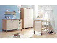 Quality Kidsmill Nursery Furniture Set - Linea Range