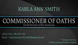 Need a Commissioner of Oaths?