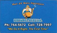 Hiring immediately! Construction helper/ drywall installer