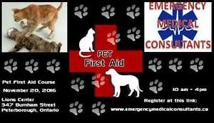 Pet First Aid Course Peterborough Kawartha Lakes Peterborough Area image 1