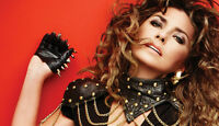 SHANIA TWAIN CONCERT TICKETS*ALL TYPES OF SEATING AVAILABLE*