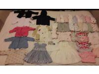 Large Baby Girl Bundle 0-3 Months
