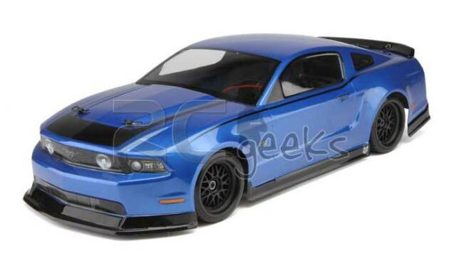 HPI Racing RC Car 2011 Ford Mustang Clear Body Shell 200mm 106108