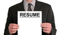 ★★ ★ ★ ★ CANADIAN RESUME WRITING SERVICE - CALL TODAY ★ ★ ★ ★ ★