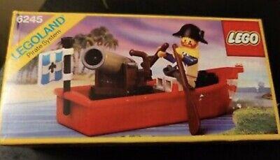 1990 Lego 6245 Sealed Pirate Harbor Sentry Boat Lieutenant de Martinet Imperial