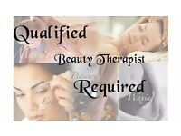 Beauty Therapist, initially 20 hrs per week, temporary with chance of becoming permanent.
