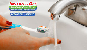 INSTANT-OFF Universal Water Saver ECO Automatic Shut Off for Bathroom & Kitchen