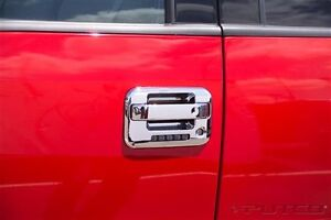 COVER HANDLE POIGNER PORTE CHROME F-150 2 DOOR PUTCO 2004-2014
