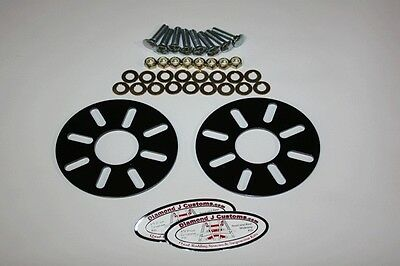 Atv Rear Wheels Universal (slotted Holes) Conversion Kit (4 Bolt Patterns)