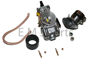 Gy6-Gas-Scooter-Moped-Bike-32mm-OKO-HP-Performance-Carburetor-with-Alloy-Intake
