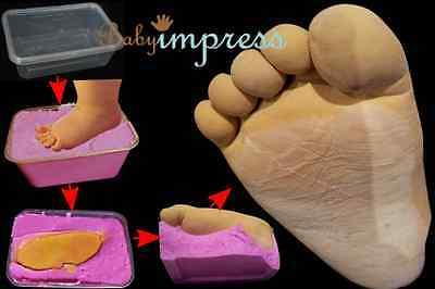 Casting foot steps
