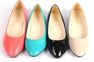 Korea-Candy-Color-Sweet-Casual-Slip-on-Flat-Ballet-Shoes-Soft-Soled-Women-Girl