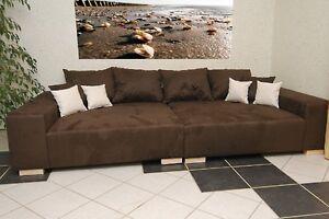 mega sofa sofas sessel ebay. Black Bedroom Furniture Sets. Home Design Ideas