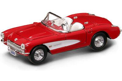 New In Box  1/43 Scale Diecast Road Signature 1957 Chevrolet Corvette
