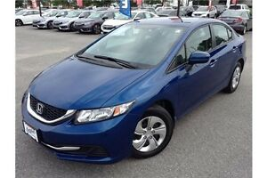 2015 HONDA CIVIC LX - HEATED CLOTH SEATS - REAR CAM - BLUETOOTH
