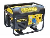 NEW CHAMPION 2800 WATT GENERATORS,USA DESIGNED AND ENGINEERED, BALLYNAHINCH.