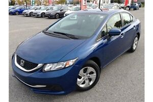 2014 HONDA CIVIC LX - AUTOMATIC TRANS - CLOTH INT- BLUETOOTH