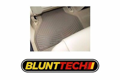 New Genuine BMW All weather floor Mats E39 sedan and wagon REAR BEIGE