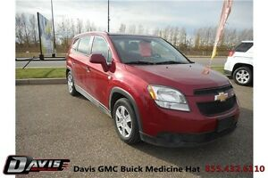 2012 Chevrolet Orlando LS Fuel efficient! 7 passenger seating!