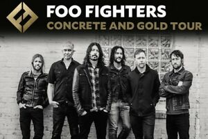 Foo Fighters General Admission Floors 2 Tickets!