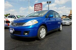 2009 Nissan Versa 1.8S LOCAL TRADE!!  LOW KMS!! GREAT VALUE