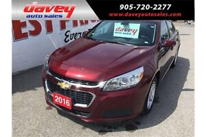 2016 Chevrolet Malibu Limited LT BLUETOOTH, ALLY WHEELS, MP3...