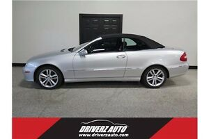 2007 Mercedes-Benz CLK-Class CONVERTIBLE, LEATHER, SMOKE FREE