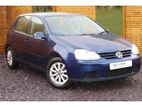 2007 (57) VW Golf Match FSI 1.6 Petrol 5 Door