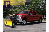 2011 Ford F-250 XLT 8.5 FT/WESTERN PLOW