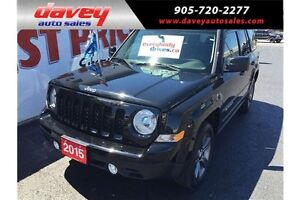 2015 Jeep Patriot Sport/North SUNROOF, 4X4, LEATHER SEATS