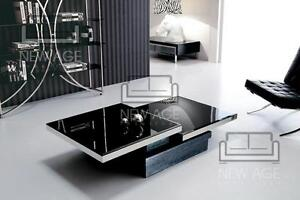 contemporary Glass Coffee Table