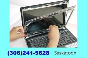 Broken/Cracked Laptop Screen Replacement. Lower cost