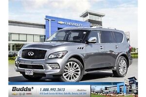 2015 Infiniti QX80 Limited 7 Passenger Safety and E-Tested