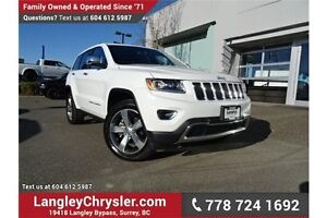 2016 Jeep Grand Cherokee Limited ACCIDENT FREE!