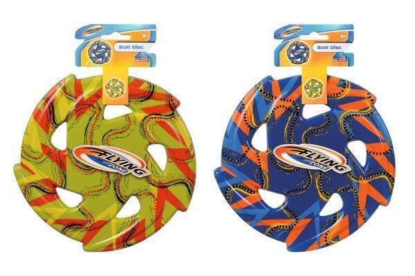Simba Outdoor Spielzeug Wurfspiel Soft Wurfscheibe Flying Zone 107206047