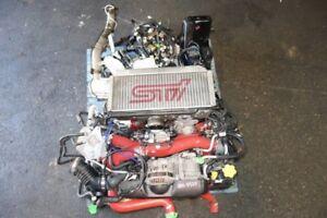 JDM Subaru WRX STi GDB V8 EJ207 EJ20 DOHC AVCS Turbo Engine