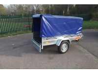 BEST PRICE for Car Camping BOX Trailer 7ftx4ft 2,03 x 1,12 m INCLUDING TOP COVER !