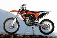 KTM SX-F low hours mint condition.