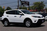 2013 Toyota RAV4 AWD ONLY 52K! **RARE WHITE** POWER OPTIONS
