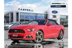 2016 Ford Mustang V6 convertible--10,000kms--loaded
