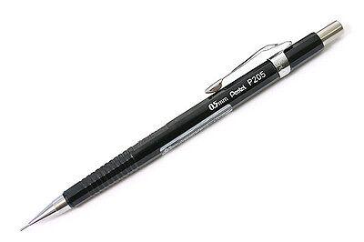Mechanical Pencil Pentel .5mm P205a Black Barrel