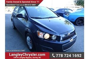 2015 Chevrolet Sonic LT Auto w/ Safety Rear Camera & Heated S...