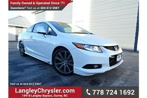 2012 Honda Civic Si LOCALLY DRIVEN & 6-SPEED MANUAL