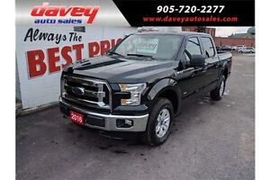 2016 Ford F-150 XLT 4X4, QUAD CAB, BLUETOOTH