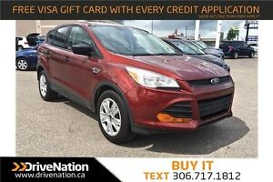 2014 Ford Escape S LOW KILOMETERS! Great Family SUV!